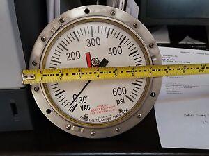 NEW-SI-Span-Instruments-BUNA-N-KEM-X-SUBZ-II-0-600-psi-6-034-Gauge-NOS