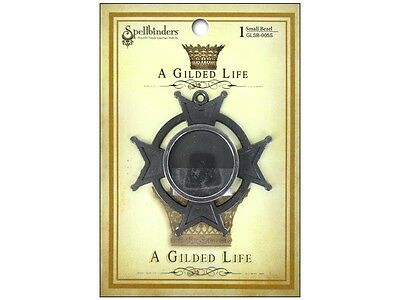 Spellbinders - AGL - Bezel - Iron Cross Small - Silver