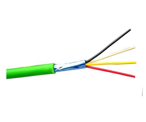 Y Datenkabel Telefon Kabel Steuerleitung ST EIB Busleitung 20m 2x2x0,8 grün J-Y
