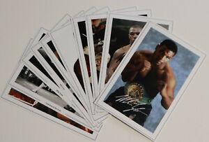 10 MIKE TYSON JobLot Bulk Set Autograph Signed PHOTO Prints Fan Gift Boxer