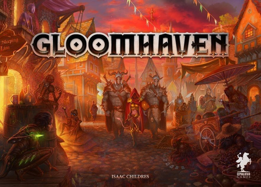 Gloomhaven Board Game - Cephalofair Games - Retail Version - New