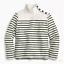 J-Crew-Striped-Button-Shoulder-Turtleneck-Sweater-Various-Color-amp-Size-NWT-55