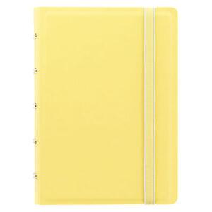 Filofax-Tasche-Pastelle-Notizbuch-Zitrone-nachfuellbar