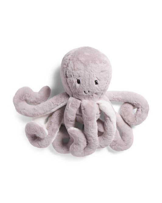 FROLICS EXTRA LARGE GREY WHITE OVERSIZED OCTOPUS PILLOW 30  APPROX.