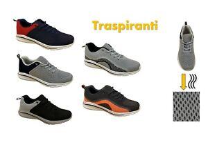 Scarpe-uomo-sportive-ginnastica-comode-traspiranti-running-sport-corsa-SITUO