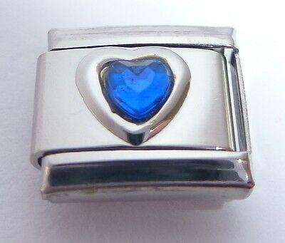 September Birthstone for Italian Charm Bracelet Charms Link