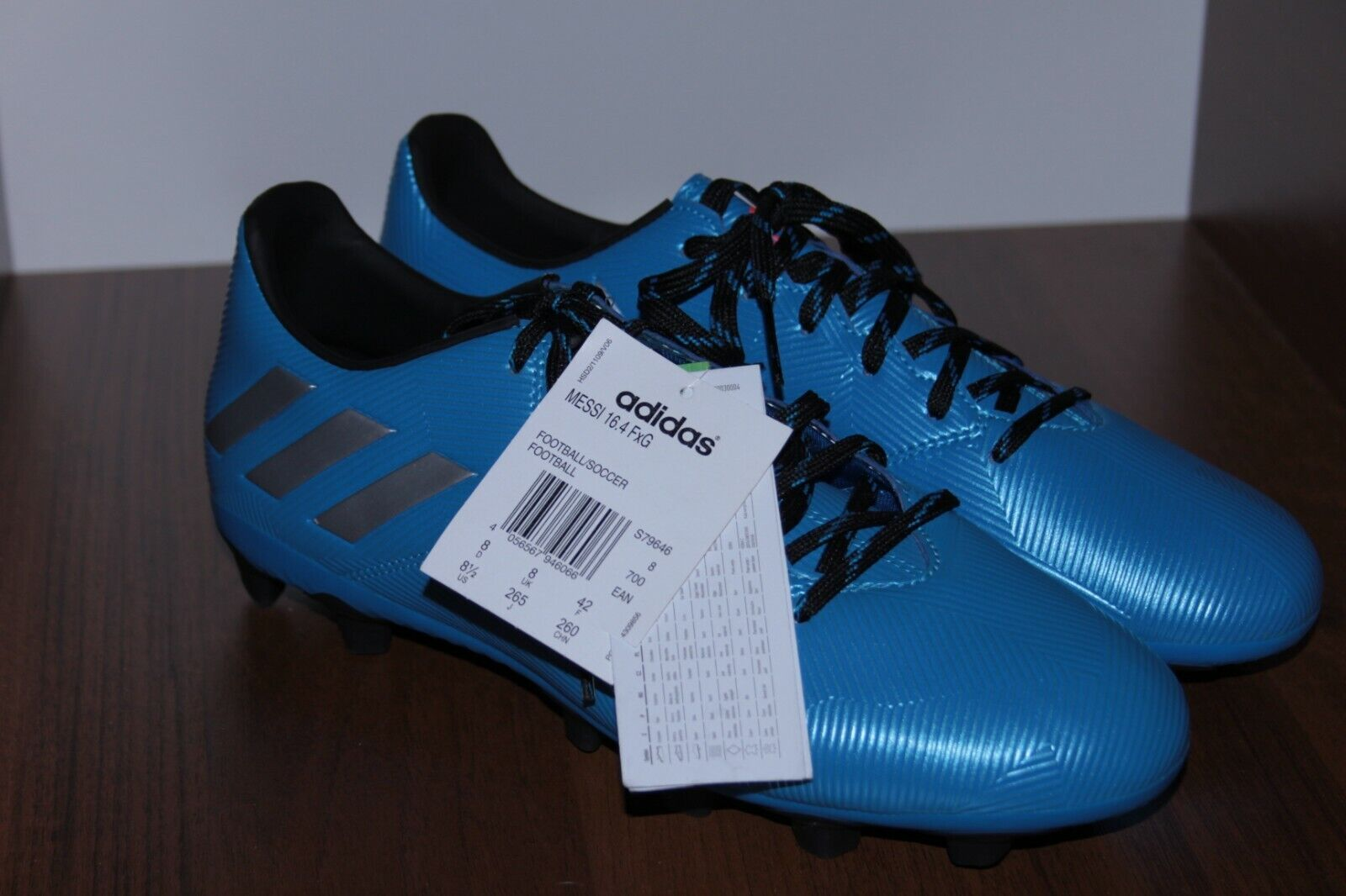 Adidas MESSI 16.4 FG S79646 Football Boots Shoes UK 8 US 8.5 FR 42 - BNWT