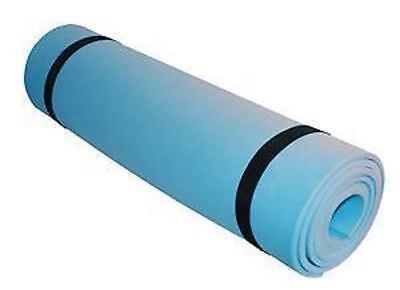 Espressive Roll Up Yoga/fitness/esercizio/campeggio Tappeto Completo Con 2 Cinghie Elastiche-xercise/camping Mat Complete With 2 Elastic Straps It-it