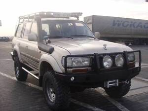 Details about TOYOTA LAND CRUISER LC 80 SERIES FRONT STEEL BUMPER WINCH OFF  ROAD 4X4