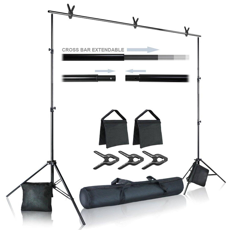 Heavy Duty Blue Stripe Weight Sandbags for Light Stand Tripod Julius Studio Photo Video Studio JSAG466 4PACK