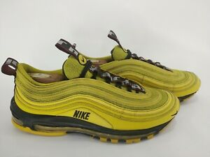 Détails sur Nike Air Max 97 Homme Taille 10.5 Bright Citron jaune [AV8368 700] Running afficher le titre d'origine