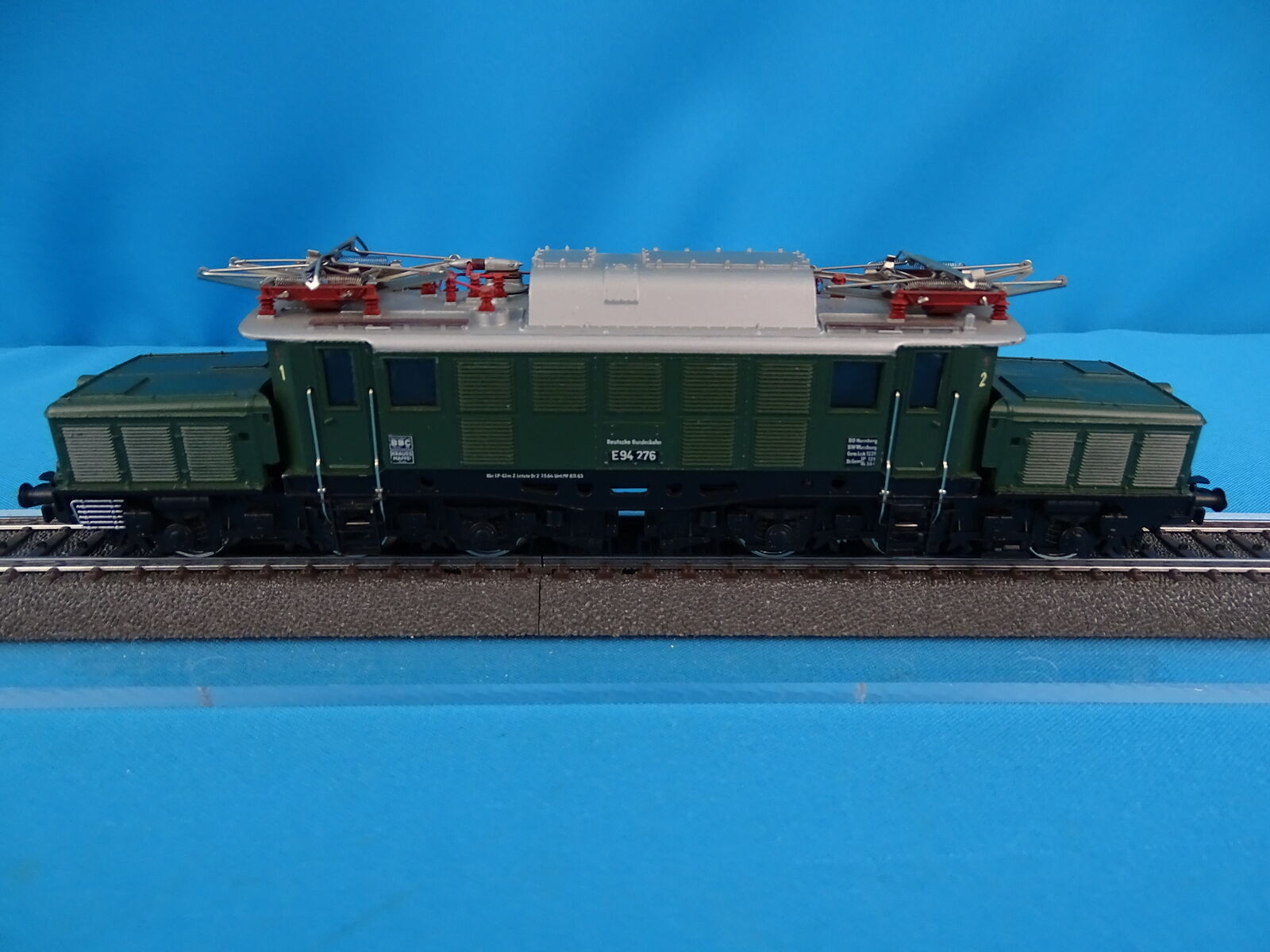 Marklin 3022 DB Electric Locomotive Br 94 grön Version 1 av 1965