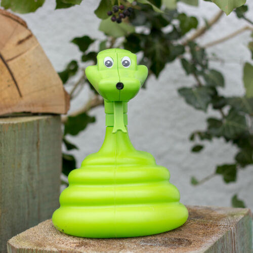 Sprühpistole als Schlange Pflanzenbestäuber Sprühflasche in Grün Blumensprüher