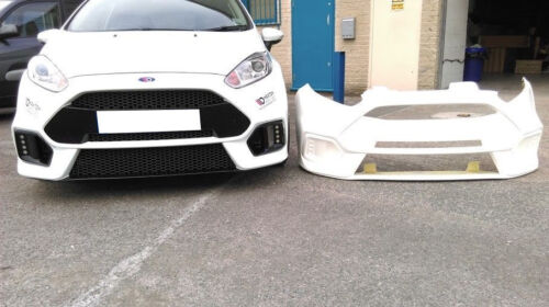 FRONT BUMPER (RS 15 LOOK) FORD FIESTA MK7 FACELIFT (2013 - 2016)