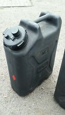 Dutch Army Black Water Jerry Cans Made in Canada Wild Camping Bushcraft