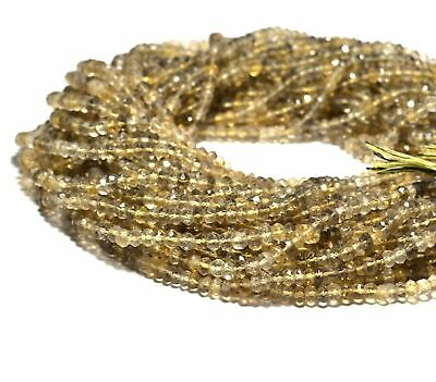 Full Lot of 13-16mm Bio-Lemon Quartz Smooth Oval Natural Briolette Beads Total 3 Strands of 14 Inches CLOSEOUT SALE SKU#18574