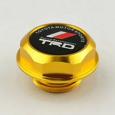 TRD Screw-in Racing Valve Oil Fual Cap Filler Tank Cover for Toyota Gold