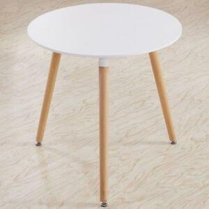 Esstisch weiß rund  Esstisch weiss Rund Holztisch Esstisch 80*80*72cm Küchentisch ...