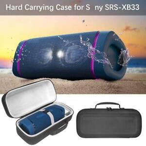 LTGEM EVA Hard Case for Sony SRS-XB43 Extra BASS Wireless Portable Speaker Protective Carrying Storage Bag