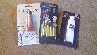 - Nuovo Di Zecca Fascio Di Articoli Di Halloween-make-up-box 2-mostra Il Titolo Originale Materiali Di Alta Qualità
