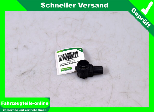 Sensor de Aparcamiento Pdc Delant. 13282886 Opel Astra J Negro Bosch 5Türer