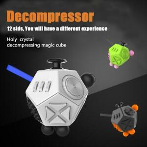 AU-12-Sided-Fidget-Cube-Desk-Stress-Adults-Kids-Relief-Focus-Puzzle-Toy-Gift-Fun