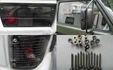 VW Bus T3 V2A Bügelspiegel Torx Komplset Westfalia Doka Syncro Dokau Multivan