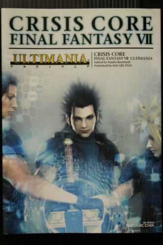 Crisis Core Final Fantasy VII ULTIMANIA Square Book