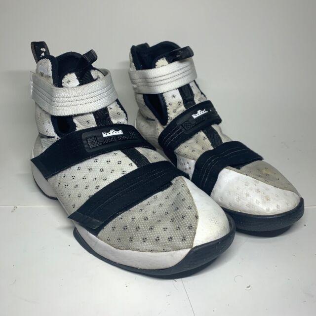 Nike Lebron Soldier X 10 GS Sz 7y White