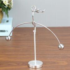 Metal Balancing Pendulum Dancing Stress Relief Toy Office Desktop Gift Decor New