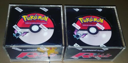 Pokemon Booster Box Protective Display Case//Pokemon Trading Cards//Packs//WOTC