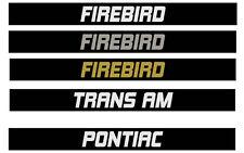 Pontiac Firebird Trans Am Custom Door Handle Inserts 1982 1984 1987 1992 F body