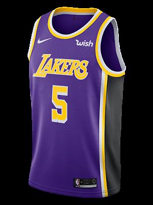Los Angeles Lakers Talen Horton-Tucker #5 Nike WISH Statement Swingman Jersey