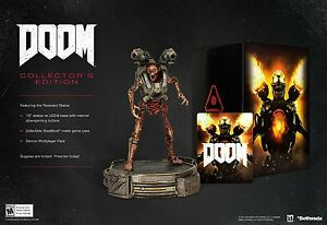 NEW-Doom-Collector-039-s-Edition-Sony-PlayStation-4-2016