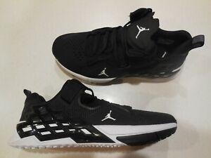 Men-039-s-Nike-Air-Jordan-Alpha-360-TR-Black-Shoes-Style-AV1937-001-Size-10-NEW