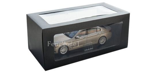 Échelle 1:18 BMW 5ER G38 2018 Voiture Modèle collection et décoration cadeau or