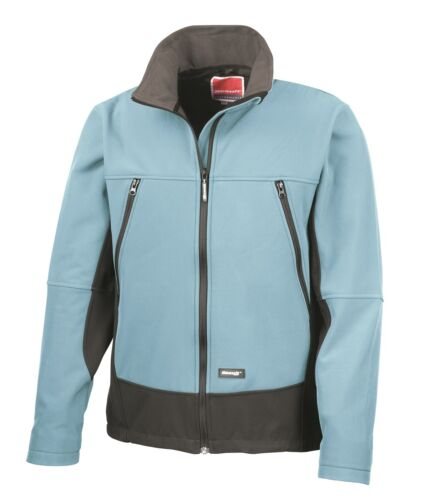 Soft Shell Activity Windproof Breathable Fleece Lined Showerproof Jacket Coat