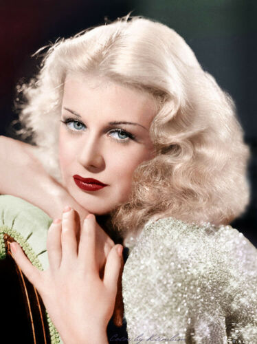 """GINGER ROGERS 8/"""" X 10/"""" GLOSSY PHOTO REPRINT"""