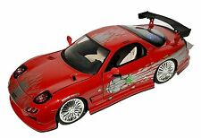 1993 mazda rx7 fast and furious. jada fast and furious 8 domu0027s 1993 mazda rx7 124 red diecast rx7 s