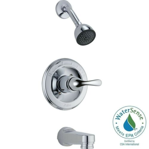 Chrome Delta T13420 Monitor 13 Series Tub and Shower Trim