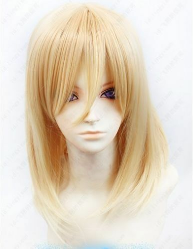 NEW!Attack on Titan/Shingeki no Kyojin Christa Renz 55cm long Blond Cosplay Wig