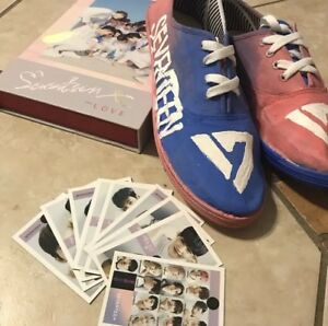 Kpop Custom Shoes Made To Order Bts Exo Twice Blackpink Nct Red