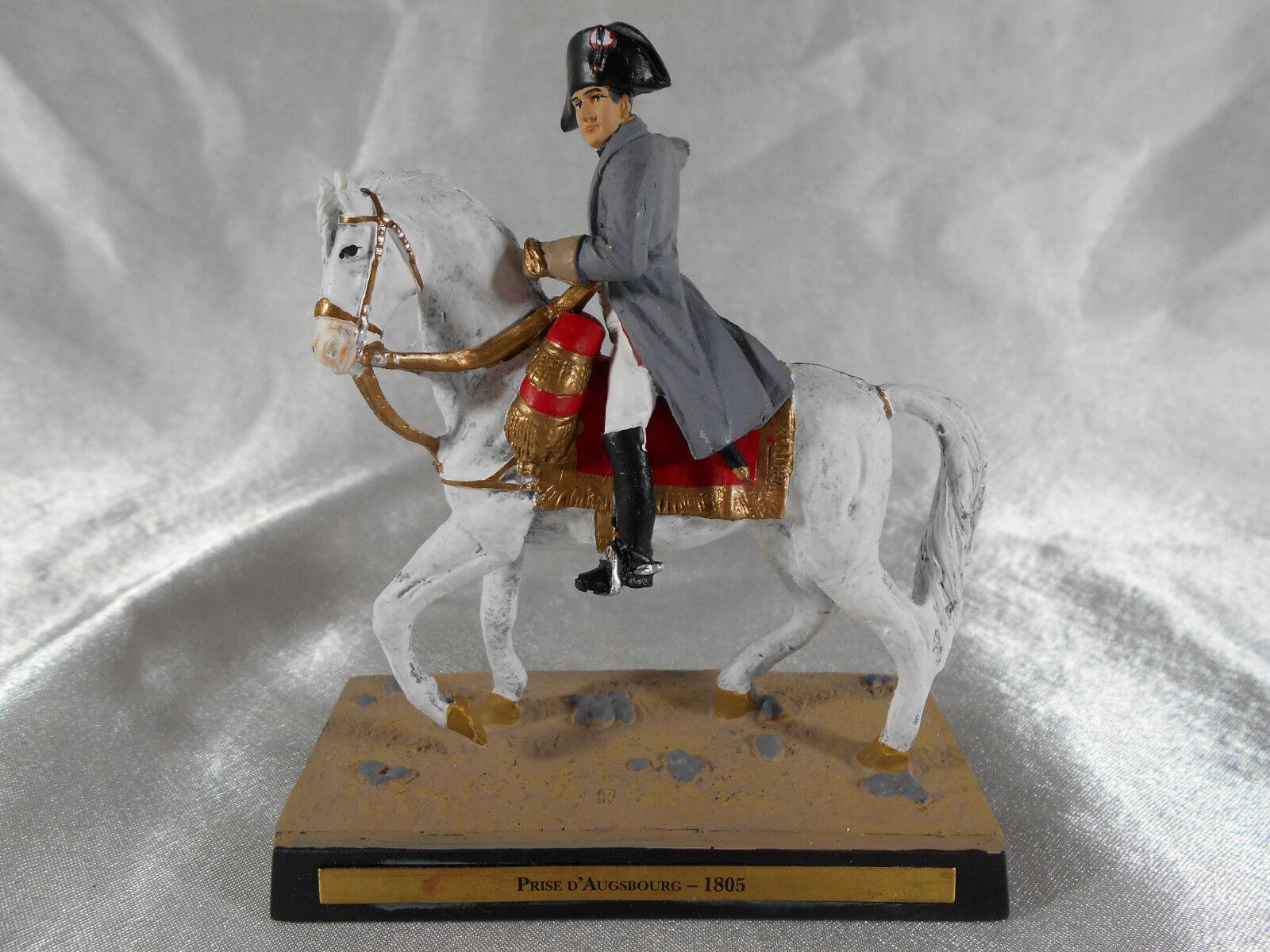 FIGURINE EN PLOMB   NAPOLéON 1er HARANGE LE 2e CORPS DE L'ARMEE A AUGSBOURG 1805