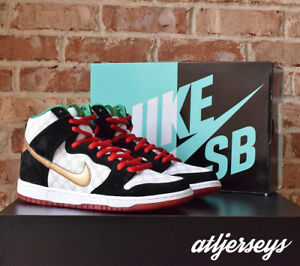 new arrive fc77b 9b3a6 Details about NIKE DUNK HIGH PREMIUM SB BLACK SHEEP PAID IN FULL 313171-170  SIZE 10.5