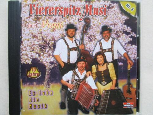 1 von 1 - Viererspitz Musi mit Vroni - Es lebe die Musik - 10 Jahre - Nr.4 - CD