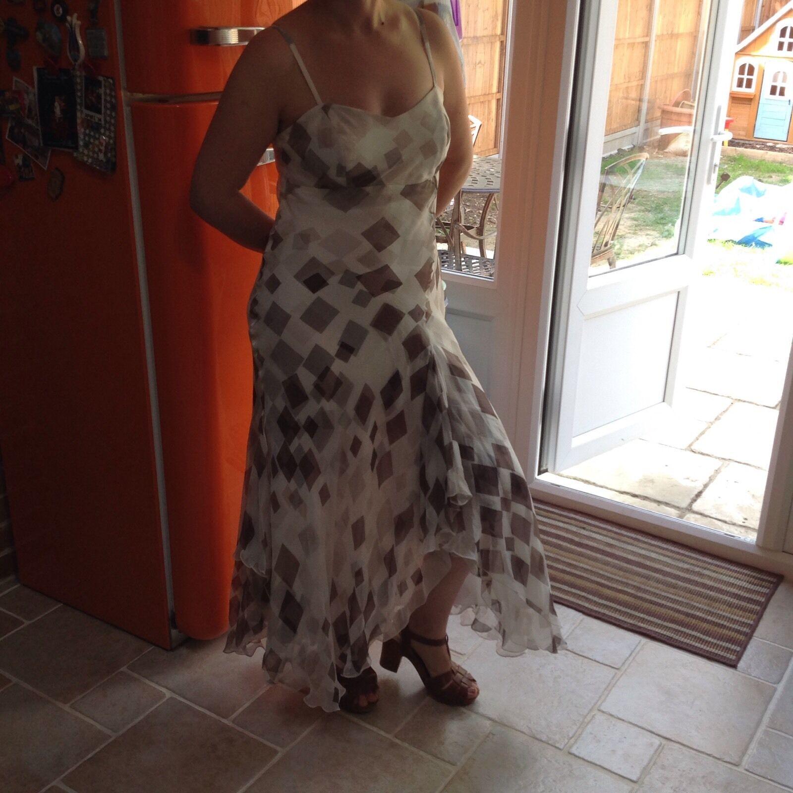 Kaliko Pure Silk Dress Size 12