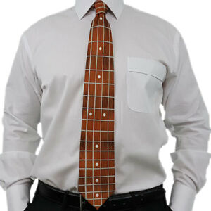WORLD-039-S-MOST-REALISTIC-BASS-GUITAR-NECK-TIE-Free-International-Postage