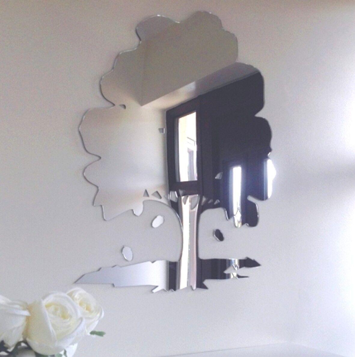 Chêne & Glands Miroir Acrylique (Plusieurs Disponibles) Tailles Disponibles) (Plusieurs 9e9c7c