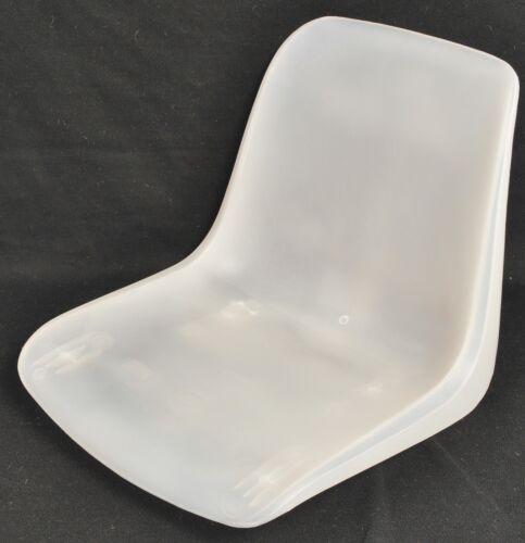 1 neue Sitzschale für Helmut Starke Designer Stuhl EUROPA - transparent