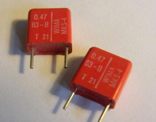 20x 0,47uF 63VDC MKS4 Wima